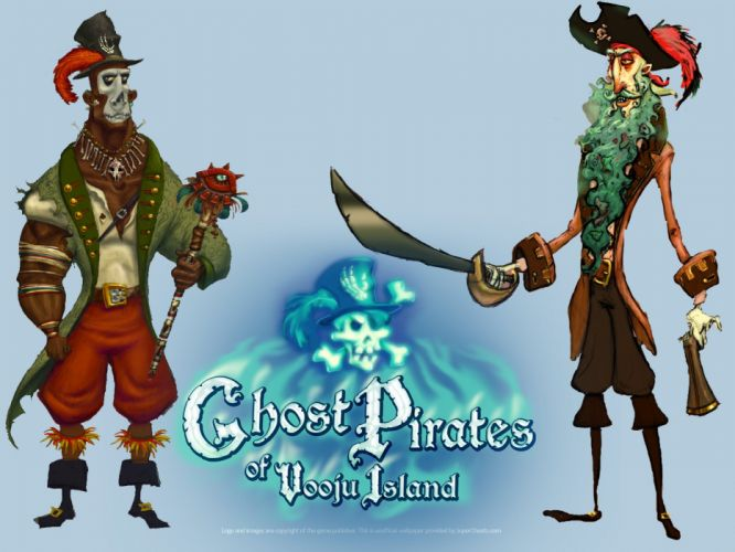 GHOST PIRATES VOOJU ISLAND adventure fantasy family pirate comedy ghost puzzle 1voojuisland poster wallpaper