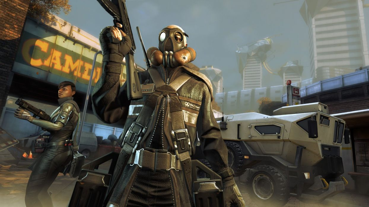 EXTRACTION sci-fi shooter action rail fighting warrior battle combat weapon gun 1extraction dirtybomb dirty bomb wallpaper
