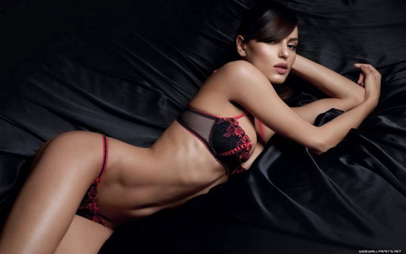 beauties fatal Girl lingerie model sexy sensual wallpaper wallpaper
