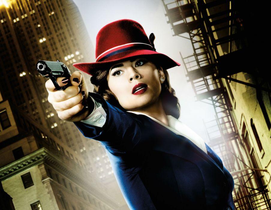 MARVEL AGENT CARTER superhero hero series action adventure drama sci-fi 1agentcarter crime captain america weapon gun pistol wallpaper