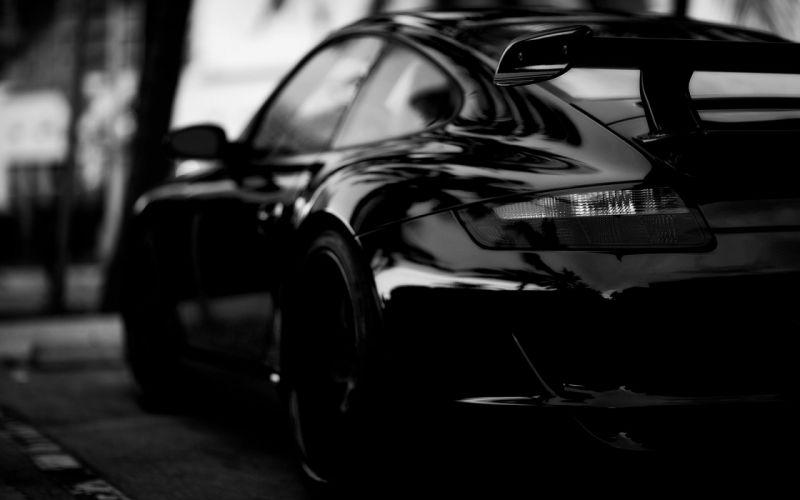Black Edition Porsche Wallpaper wallpaper