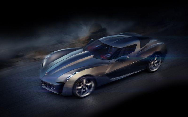 Corvette Stringray Concept Wallpaper wallpaper