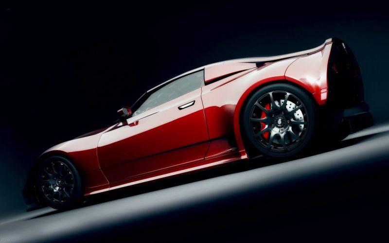 Red Supercar Wallpaper 2560X1600 wallpaper