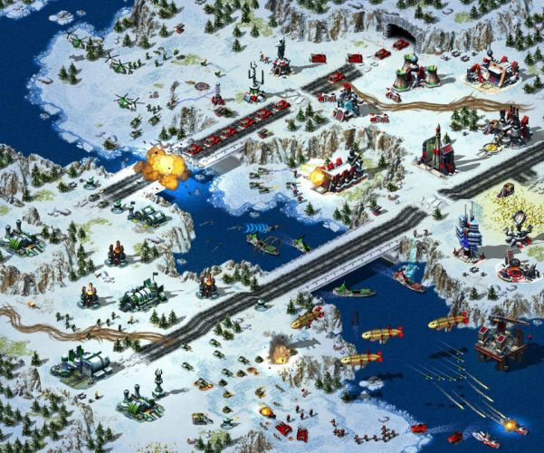 RED ALERT Command Conquer action military sci-fi futuristic strategy fighting battle combat fantasy 1redalert 1commandconquer weapon wallpaper