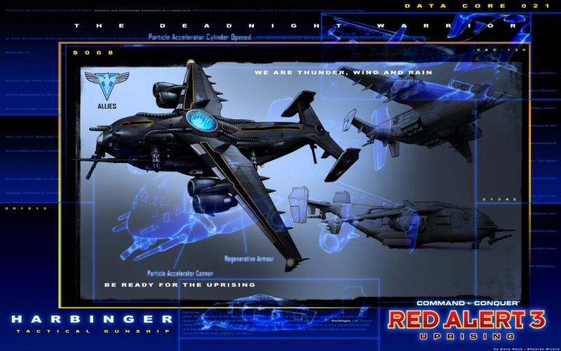 RED ALERT Command Conquer action military sci-fi futuristic strategy fighting battle combat fantasy 1redalert 1commandconquer spaceship weapon gun wallpaper