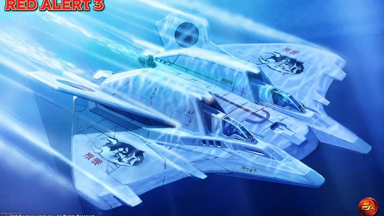 RED ALERT Command Conquer action military sci-fi futuristic strategy fighting battle combat fantasy 1redalert 1commandconquer spaceship wallpaper