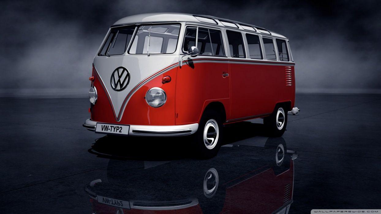 vw bus beetle kombi fusca variant wallpaper