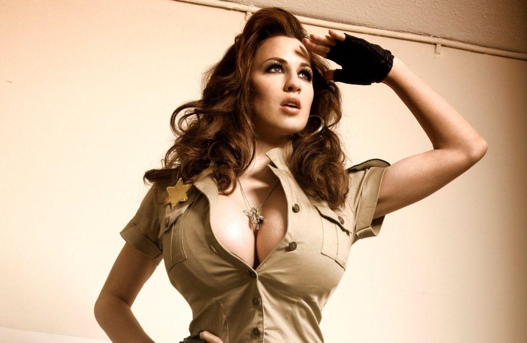 Jordan Carver in Meet The New Hot Sheriff 8 wallpaper