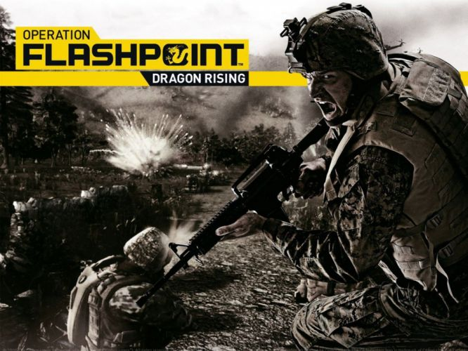 OPERATION FLASHPOINT military action shooter war battle fighting simulation tactical simulator weapon gun 1operarationflashpoint wallpaper