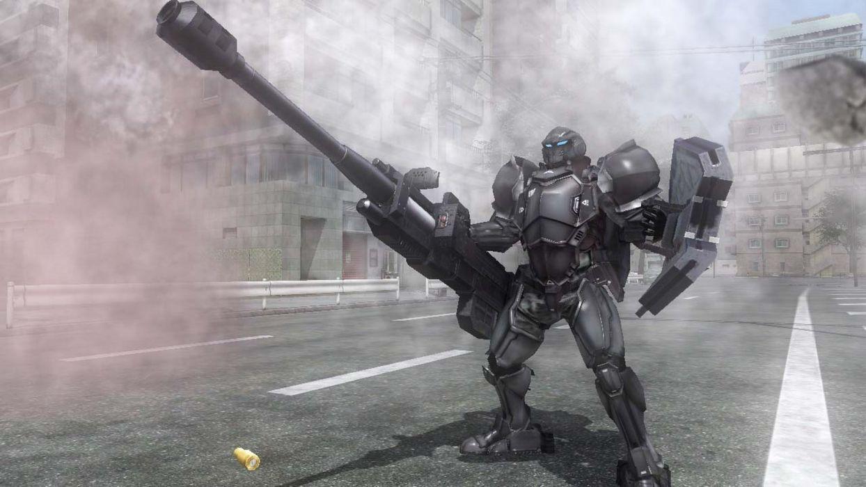 EARTH DEFENSE FORCE Chikyu Boeigun shooter action fighting sci-fi tps soldier warrior 1earthforce edf weapon gun mecha wallpaper