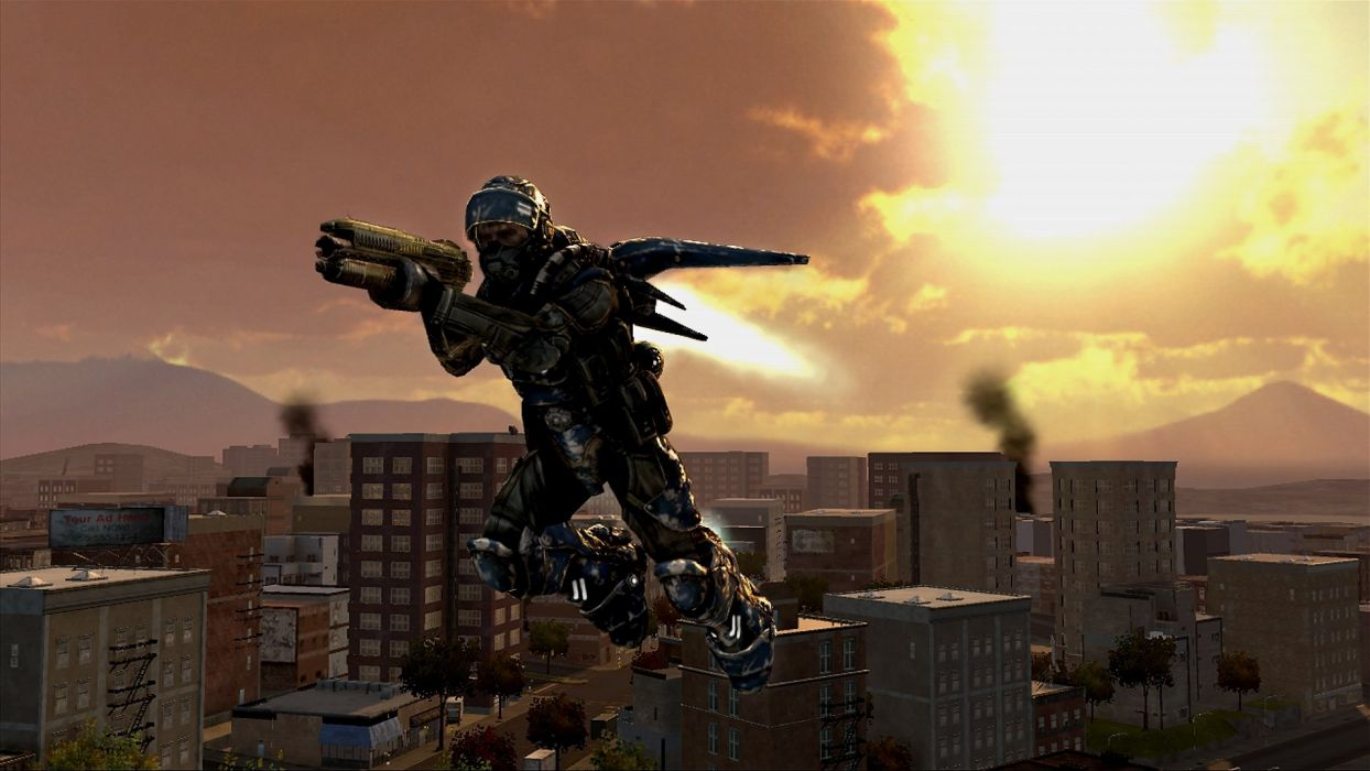 EARTH DEFENSE FORCE Chikyu Boeigun shooter action fighting sci-fi tps soldier warrior 1earthforce edf wallpaper