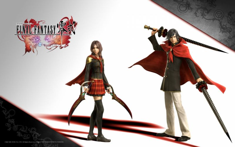 FINAL FANTASY Type-0 action rpg adventure fighting 1fftype0 tps type wallpaper