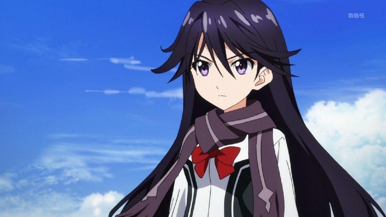 Vividred Operation Rei Kuroki tv show series anime wallpaper