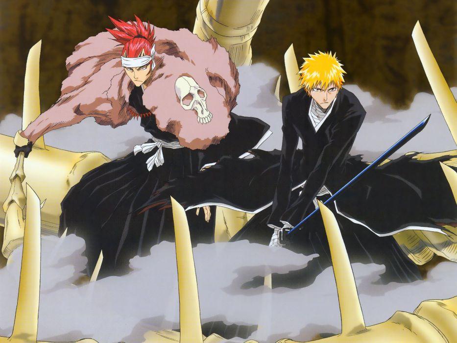 bleach anime series guys sword ichigo character wallpaper