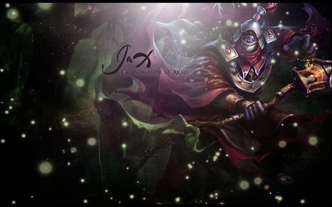 League of Legends Jax fan art wallpaper wallpaper
