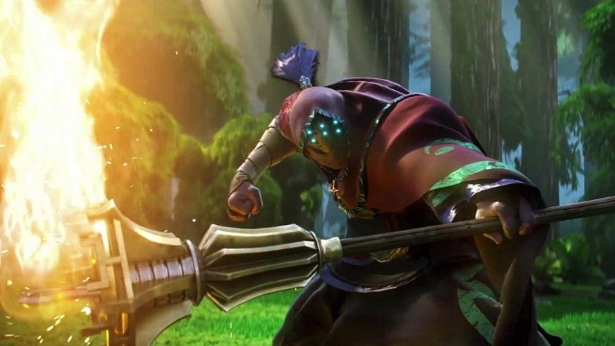 League of Legends Jax trailer portrait wallpaper