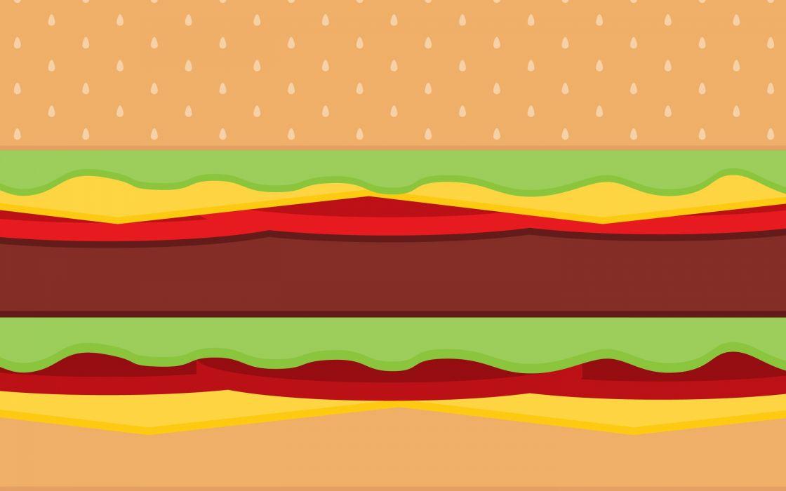 Burger Time by Diana Perkins wallpaper