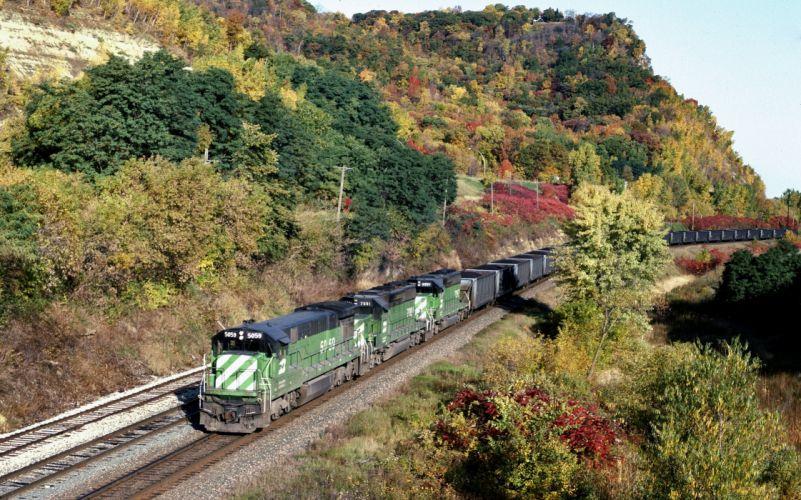 train rails wallpaper