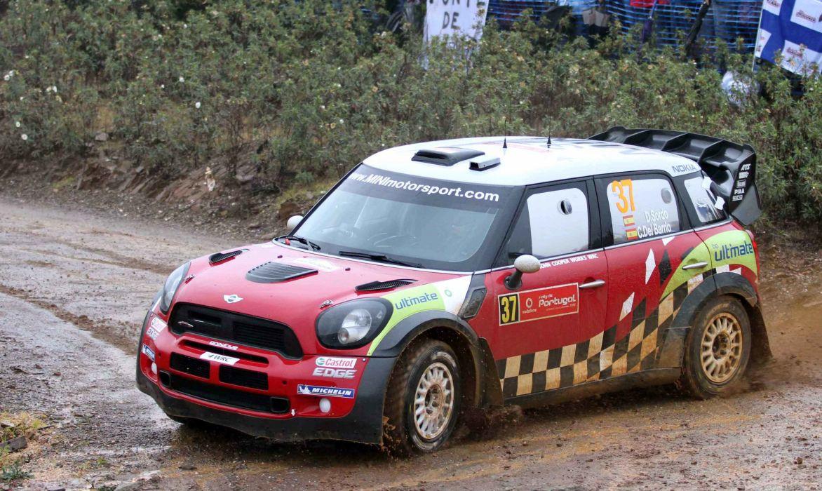 mini cooper rally car wallpaper