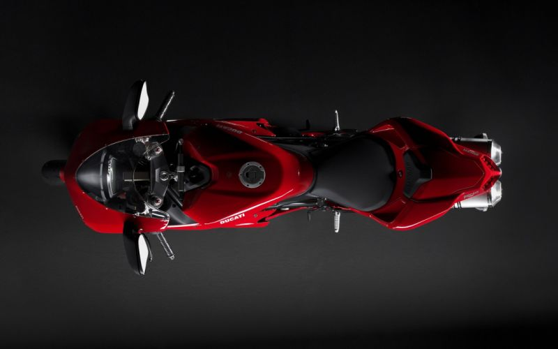 ducati red shadow car wallpaper