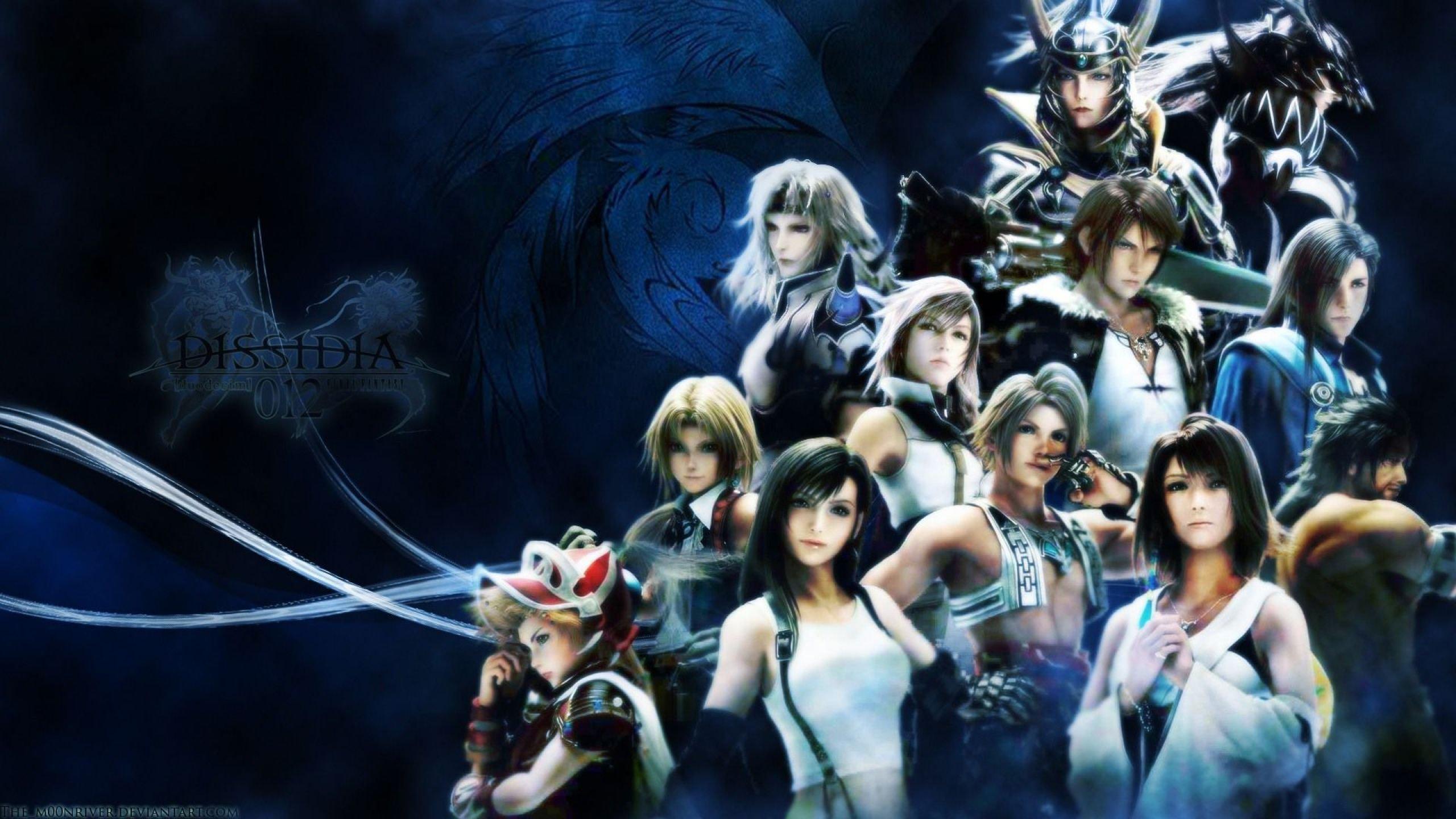 Final Fantasy Dissidia Action Adventure Fighting Combat Tps 1ffdissidia Wallpaper 2560x1440 575607 Wallpaperup