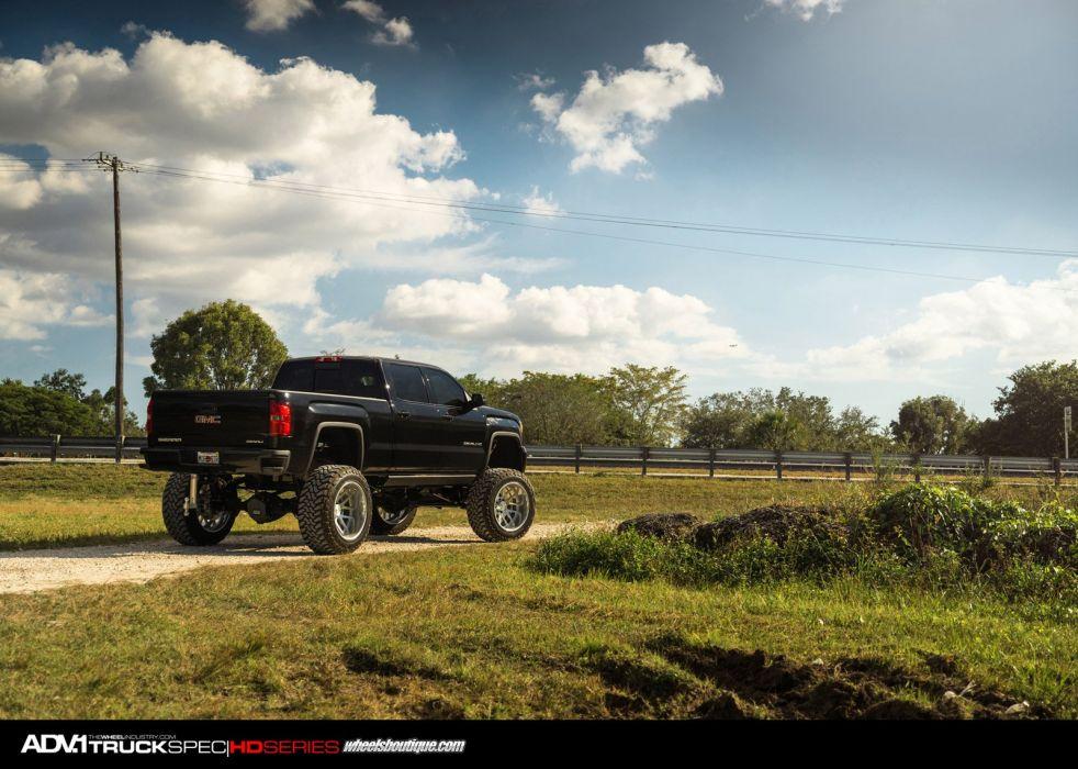 2014 ADV1 wheels GMC SIERRA DENALI truck suv cars wallpaper