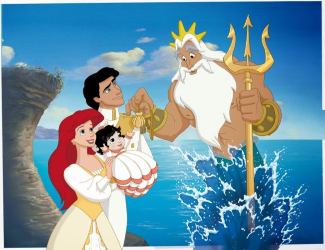 LITTLE MERMAID disney fantasy animation cartoon adventure family 1littlemermaid ariel princess wallpaper