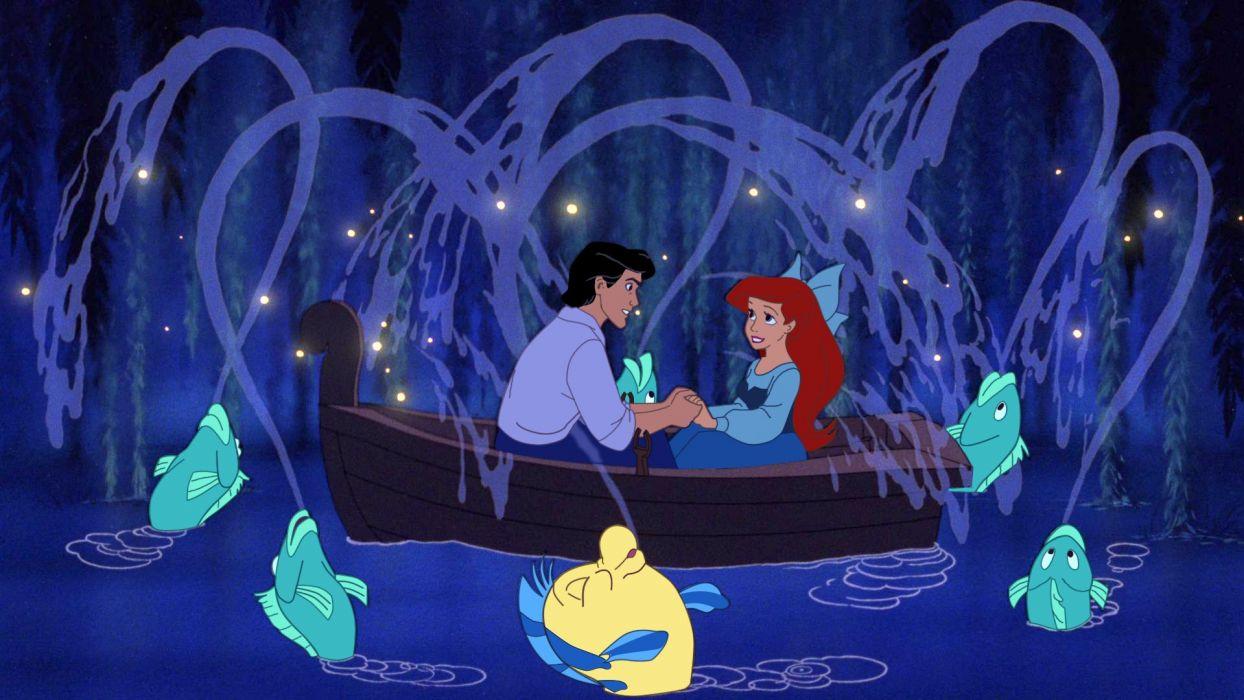 LITTLE MERMAID disney fantasy animation cartoon adventure family 1littlemermaid ariel princess wallpaper