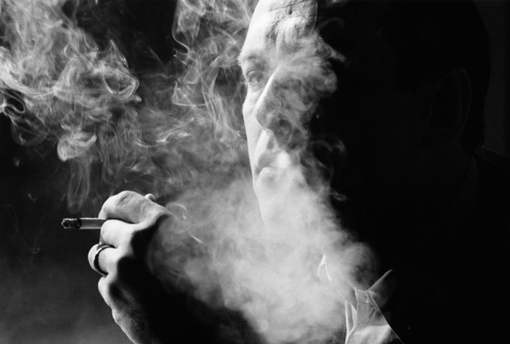 Man Smoking wallpaper