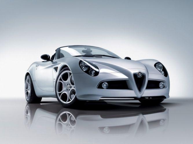 Alfa-Romeo-8C-Spider-Front-Angle 1920X1440 wallpaper