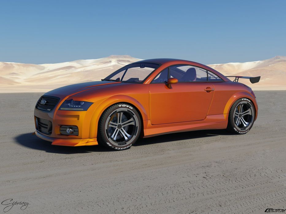 Audi Tt Tuned 8 By Cipriany 1600X1200 wallpaper