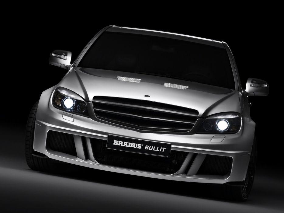 Brabus-Bullit-Based-On-Mercedes-C-Class-Front-Tilt 1920X1440 wallpaper