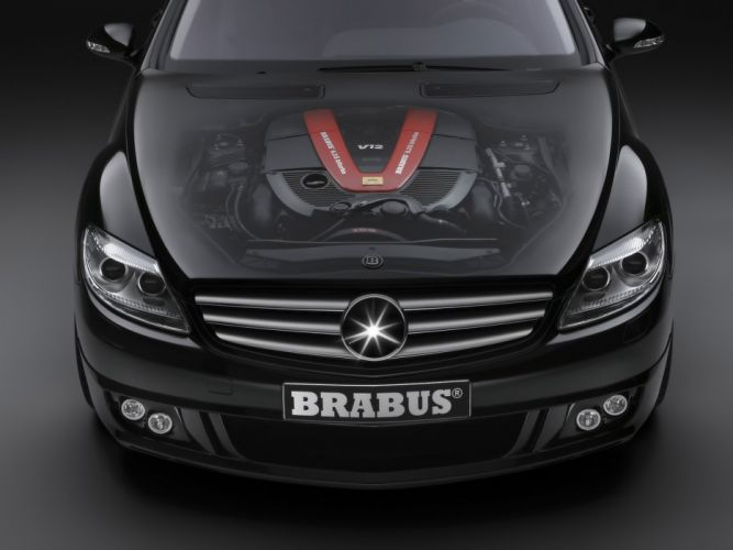 Brabus-Sv12-S-Biturbo-Coupe-Based-On-Mercedes-Benz-Cl-600-Engine-Ghosted 1920X1440 wallpaper
