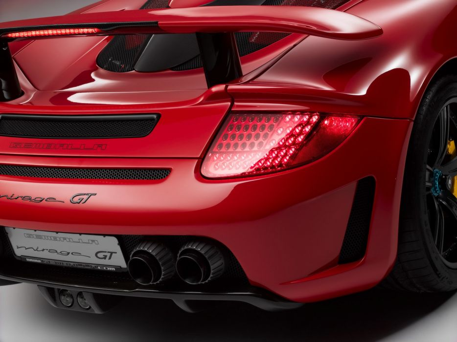 Gemballa-Mirage-Gt-Black-Edition-Based-On-Porsche-Carrera-Gt-Tail-Pipes 1920X1440 wallpaper