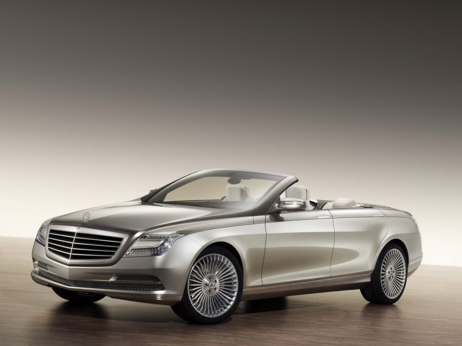 Mercedes-Benz-Concept-Ocean-Drive-Front-And-Side-Top-Up 1920X1440 wallpaper