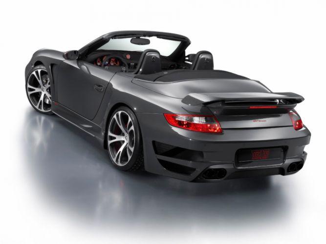 Techart-Gtstreet-Cabiolet-Based-On-Porsche-911-Turbo-Rear-Angle 1920X1440 wallpaper