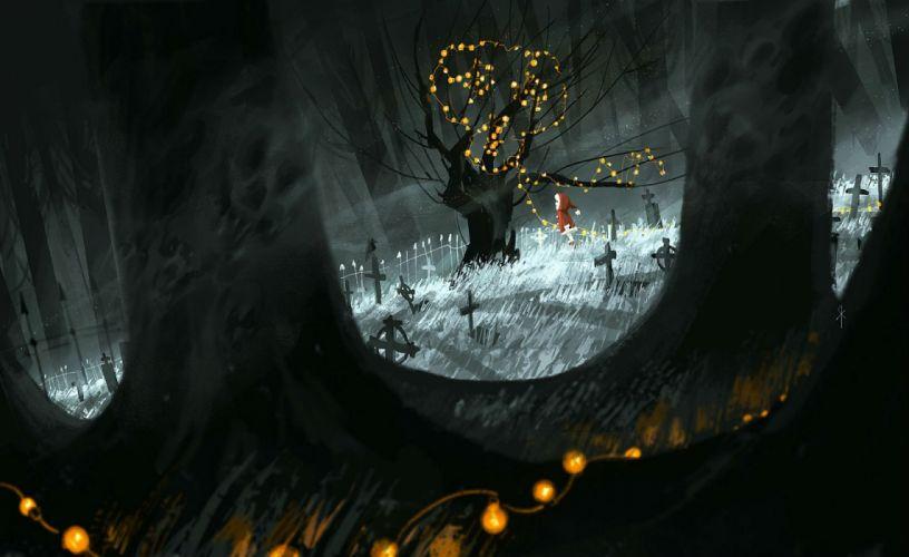 christmas cross forest hat original santa costume santa hat scenic seeker tree wallpaper