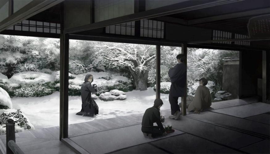 Gin Tama Yamazaki Sagaru Kondo Isao Okita Sougo Hijikata Toushirou wallpaper