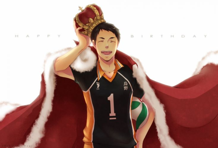 Haikyuu Sawamura Daichi Light Background Volleyball Uniform wallpaper