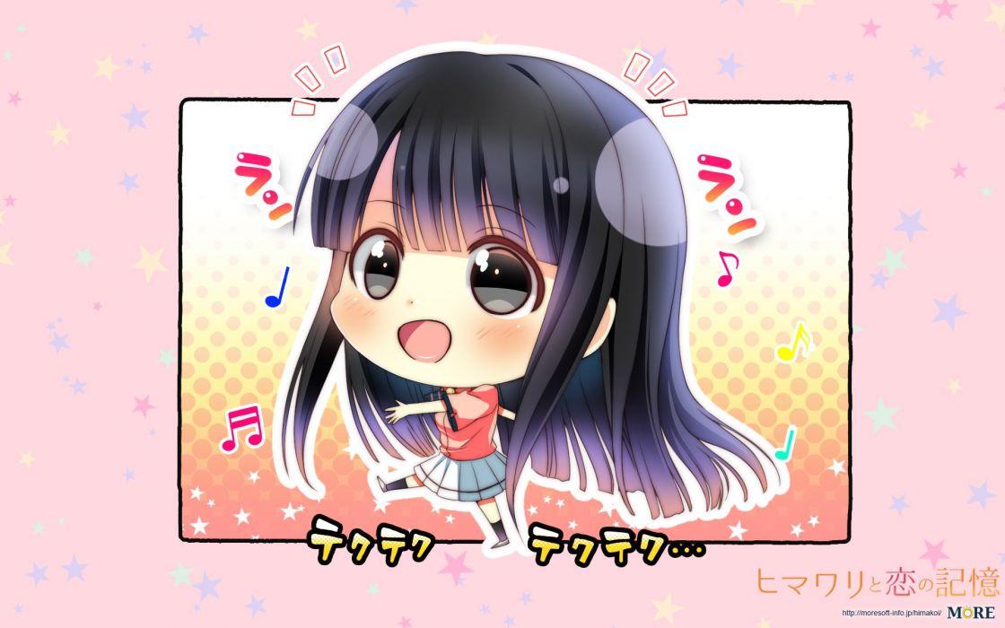 Himawari to Koi no Kioku Tsukinoura Ai wallpaper