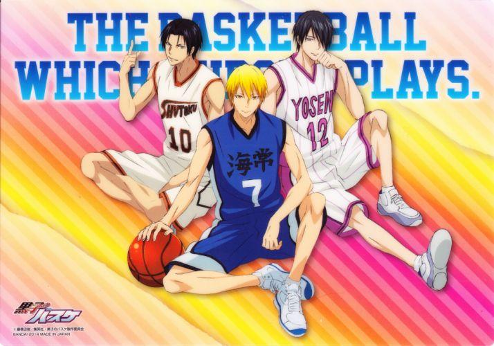 Kuroko no Basuke Kise Ryouta Takao Kazunari Himuro Tatsuya Basketball Uniform wallpaper