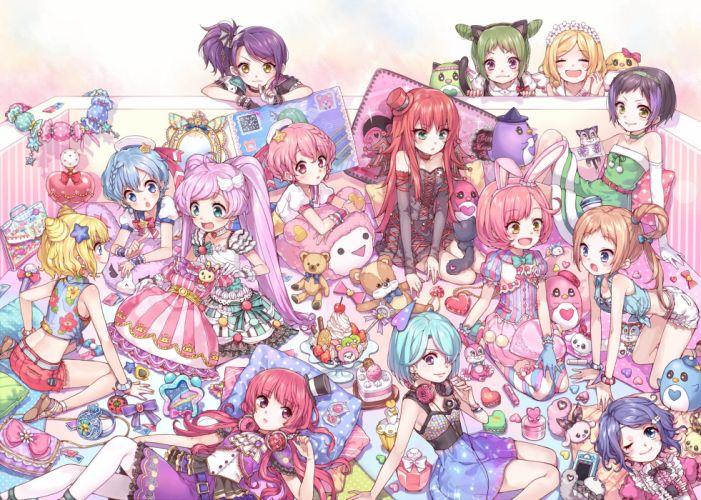 Pretty Rhythm Rainbow Live PriPara Manaka Lala Suzuno Ito Usagi wallpaper