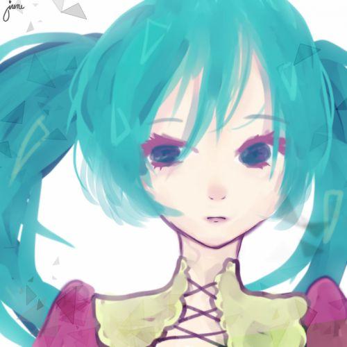 Vocaloid Hatsune Miku h wallpaper