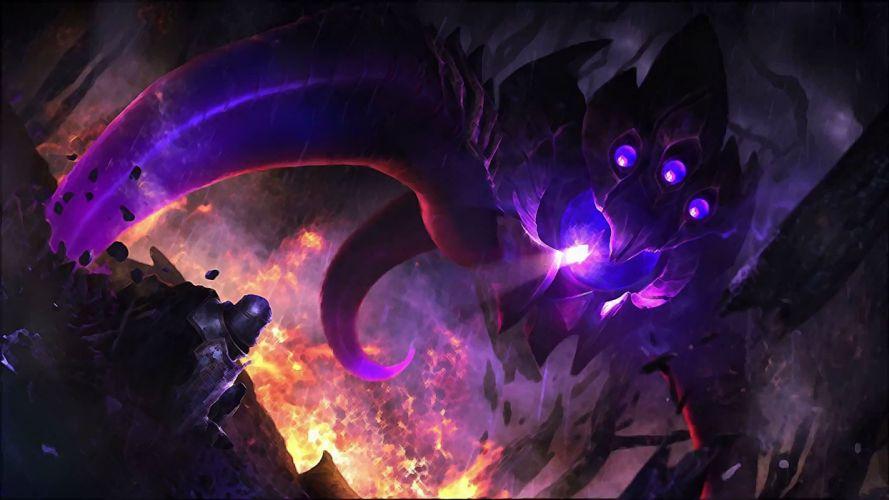 League of Legends Vel'Koz First Contact trailer wallpaper wallpaper