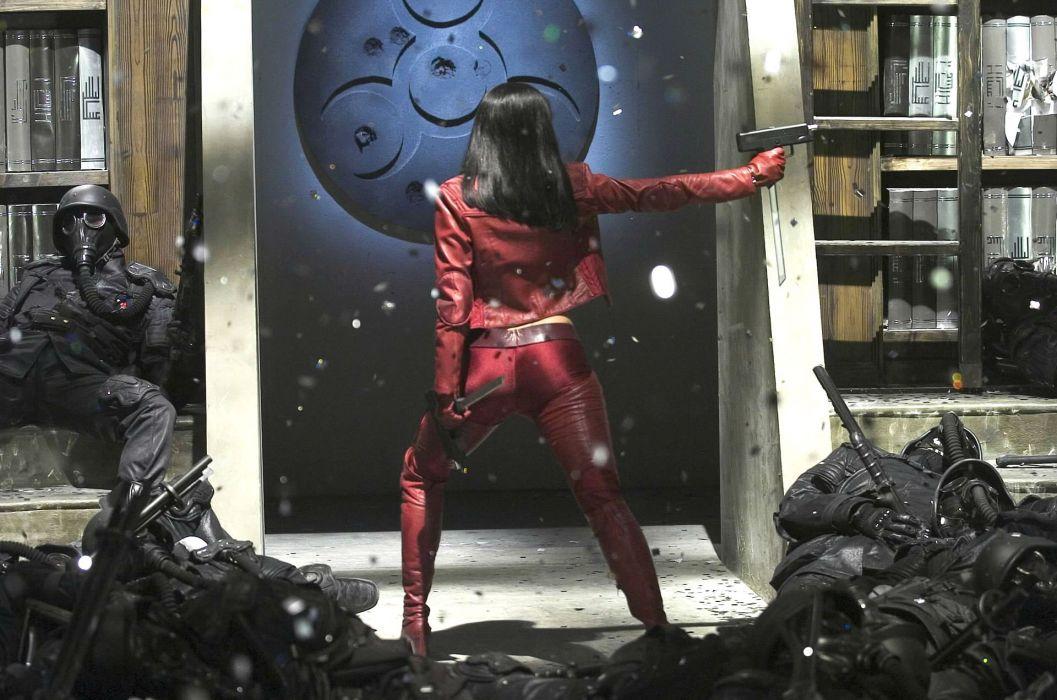 ULTRAVIOLET action sci-fi fighting futuristic superhero milla jovovich action horror thriller 1ultraviolet warrior wallpaper