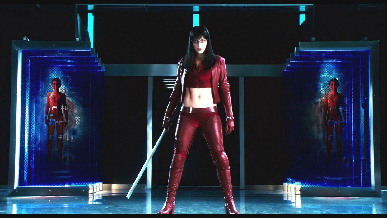 ULTRAVIOLET action sci-fi fighting futuristic superhero milla jovovich action horror thriller 1ultraviolet warrior weapon sword katana wallpaper