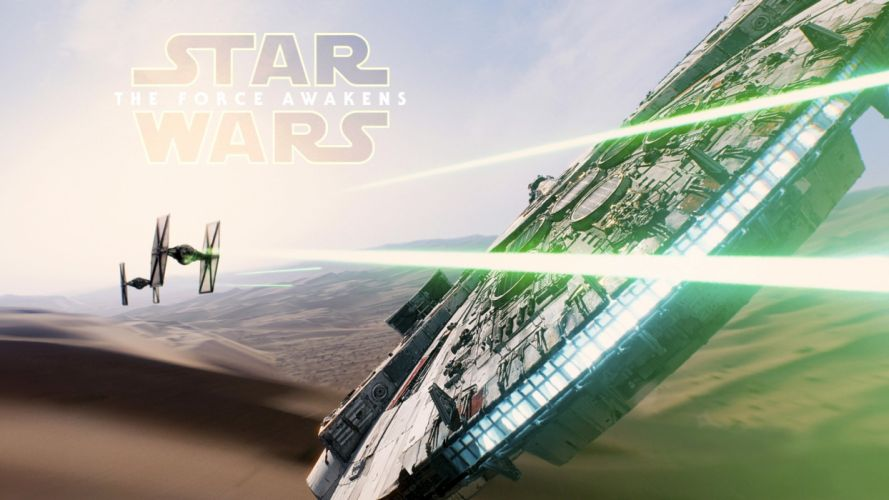 STAR WARS FORCE AWAKENS action sci-fi adventure futuristic 1star-wars-force-awakens poster spaceship wallpaper