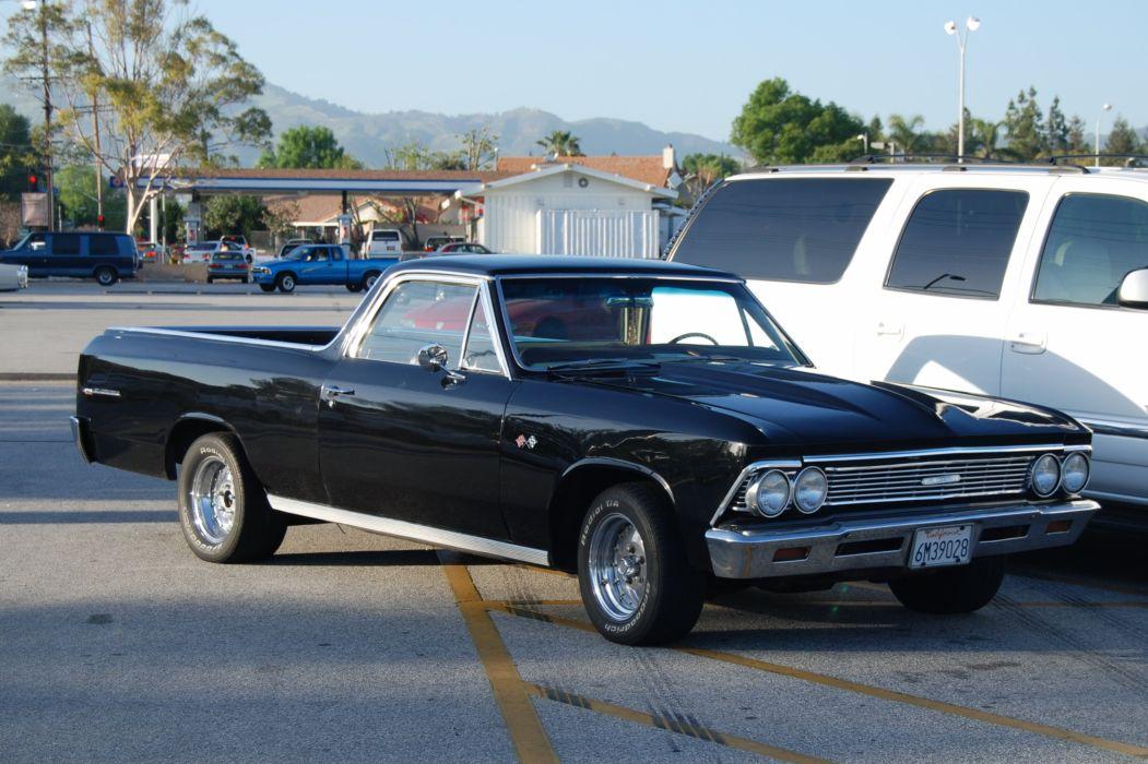 Chevrolet chevy cars muscle ss vintage el el camino usa pickup truck ...