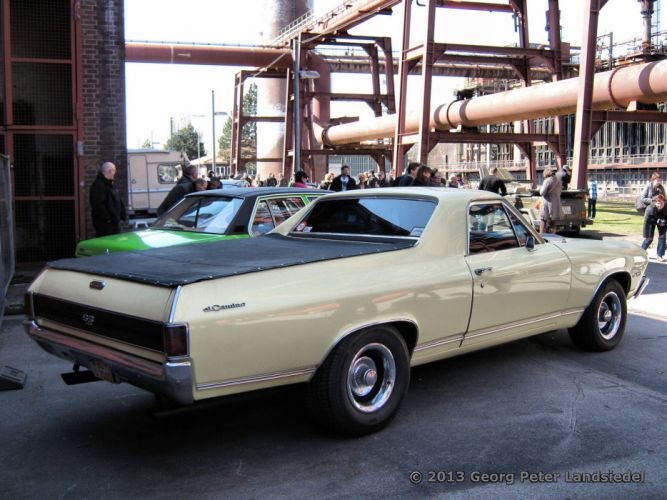 chevrolet chevy cars muscle ss vintage el el camino usa pickup truck wallpaper