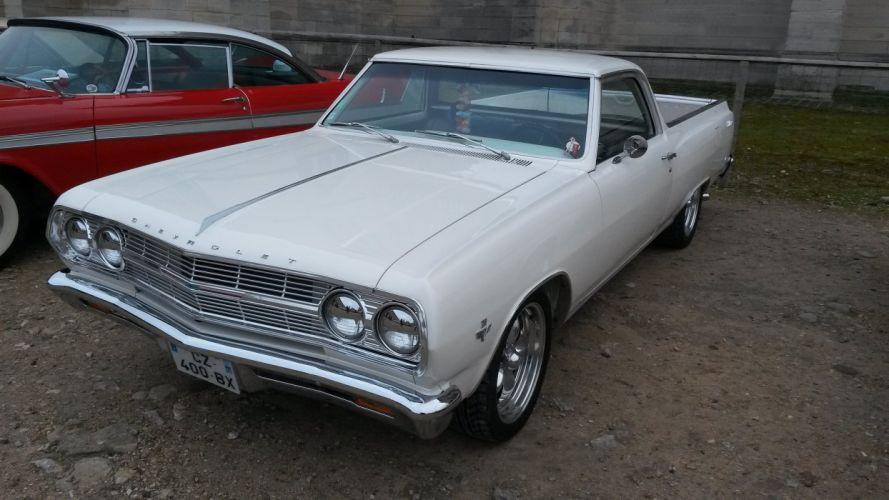 chevrolet chevy cars muscle ss vintage el el camino usa pickup truck wallpaper